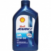 Shell Advance AX7 4T 15W-50, 1L (956596 )